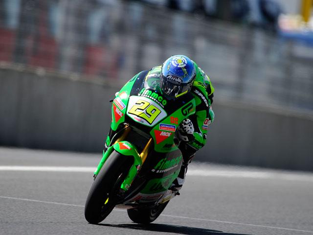 Imagen de Galeria de Victoria para Andrea Iannone en Moto2. Sergio Gadea, segundo