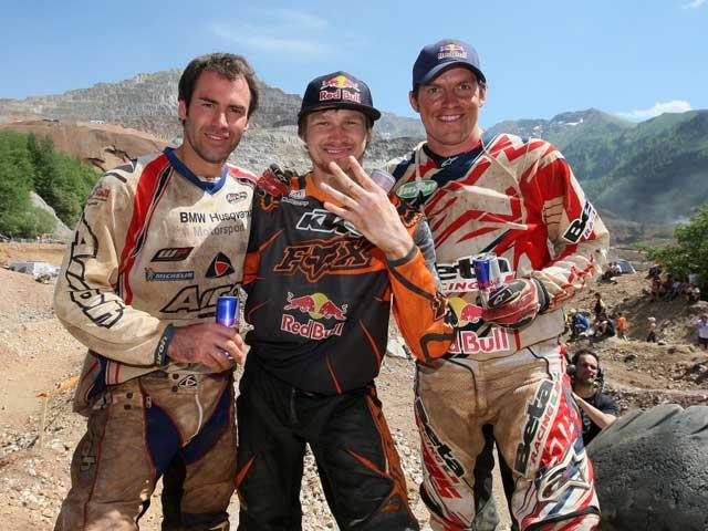 Tadeusz Blazusiak gana su cuarto Erzberg Rodeo consecutivo