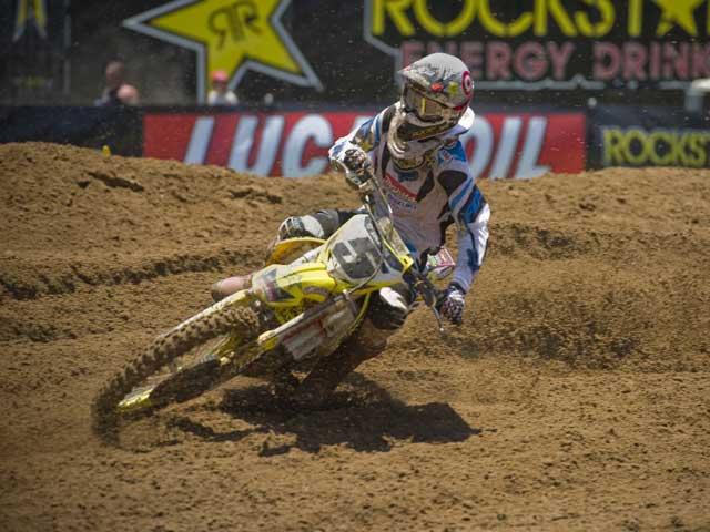 Ryan Dungey se lleva la segunda del motocross USA