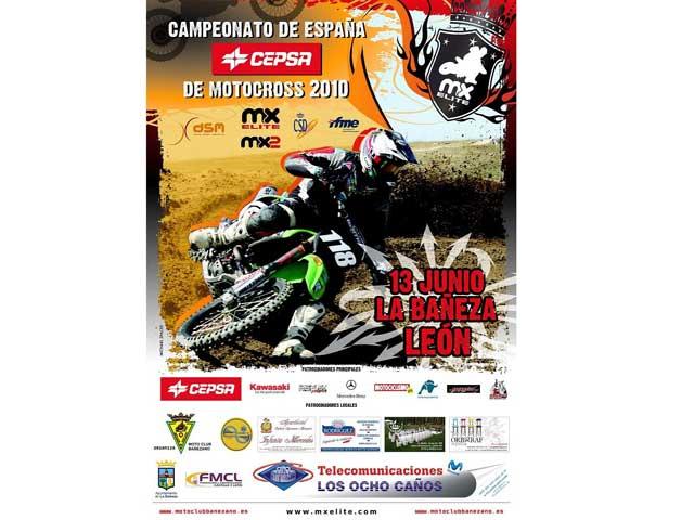 El Nacional de Motocross llega a La Bañeza
