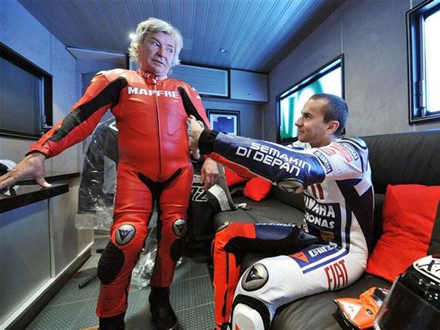 Jorge Lorenzo y Angel Nieto visitaron el TT de la Isla de Man
