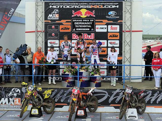 Victorias de De Dycker y Musquin en el Mundial de Motocross