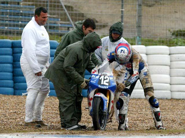 Espargaró, baja en Jerez