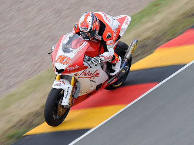Imagen de Galeria de Elías, Iannone y Rolfo, podio de Moto2 en Alemania