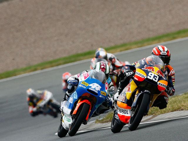 Las fotos de las carreras de Moto2 y 125 en Alemania