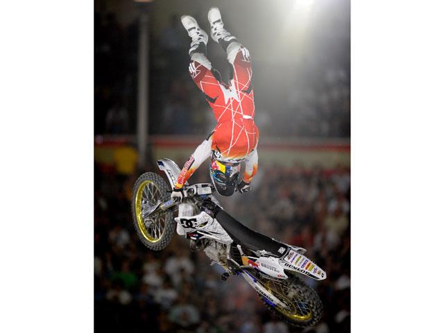 Imagen de Galeria de André Villa, primero en la clasificación del Red Bull X-Fighters