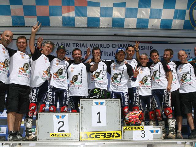 Toni Bou gana su cuarto título mundial de trial
