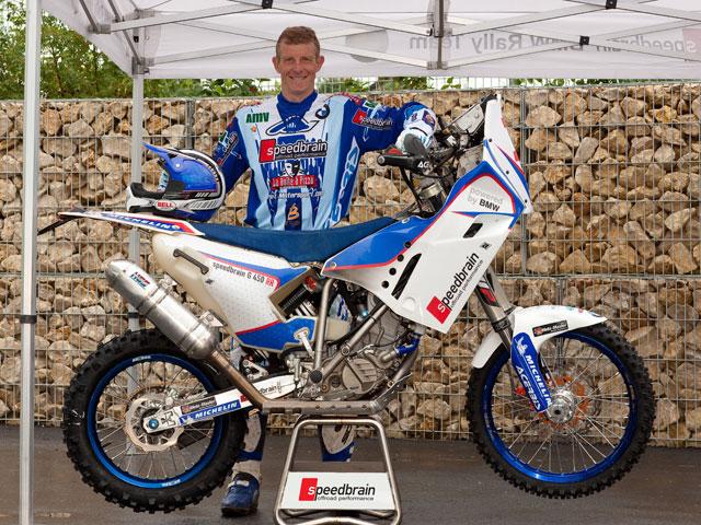 Presentado el equipo BMW Speedbrain Rally del Dakar