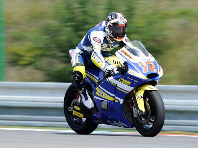 Toni Elías conquista el podio de Moto2 en Brno