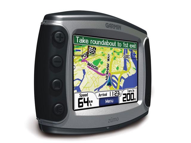 Navegadores GPS para moto
