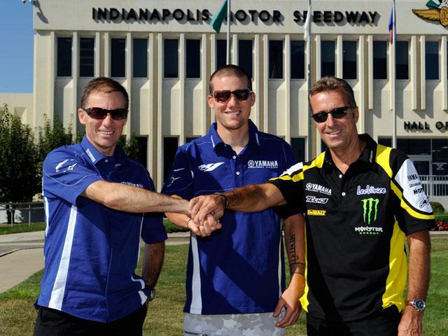 Ben Spies estará en el equipo oficial Yamaha MotoGP 2011; ya es oficial