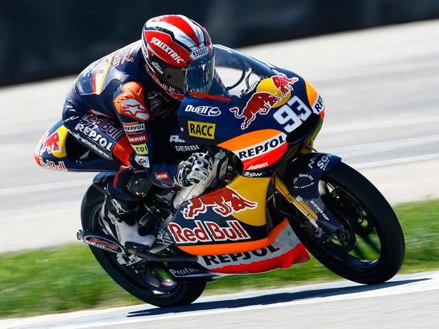 Imagen de Galeria de Spies, Simón y Márquez, los más rápidos en el GP de Indianapolis