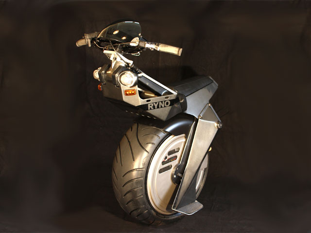 Ryno, un scooter eléctrico de una rueda