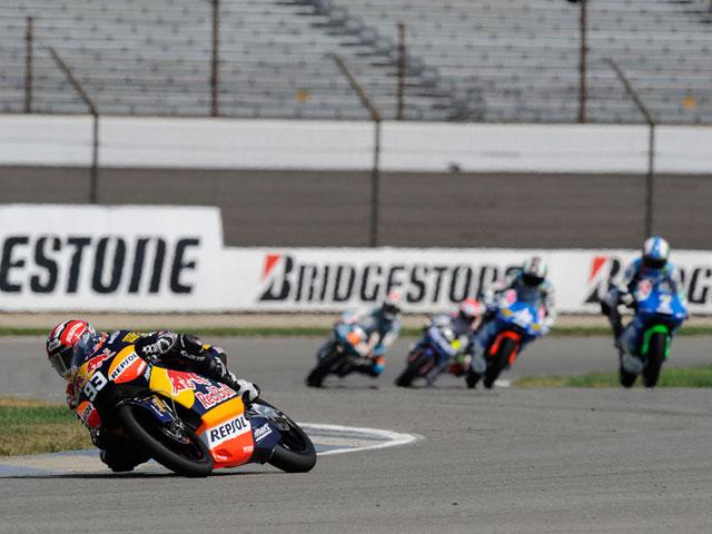 Fotos de 125 cc y Moto2 en Indianápolis