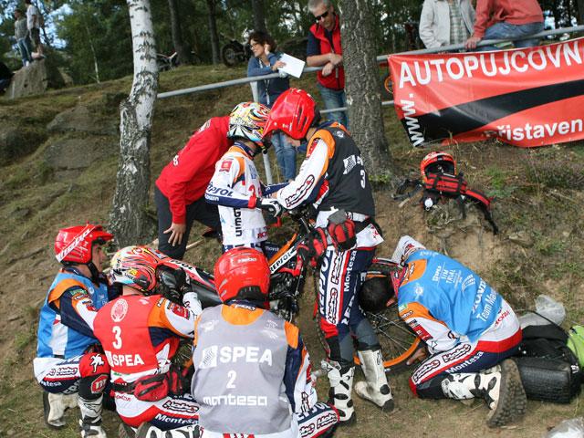 Adam Raga: victoria y subcampeonato en el trial de República Checa