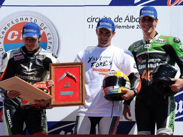 Javi Forés, campeón nacional de Stock Extreme en Albacete
