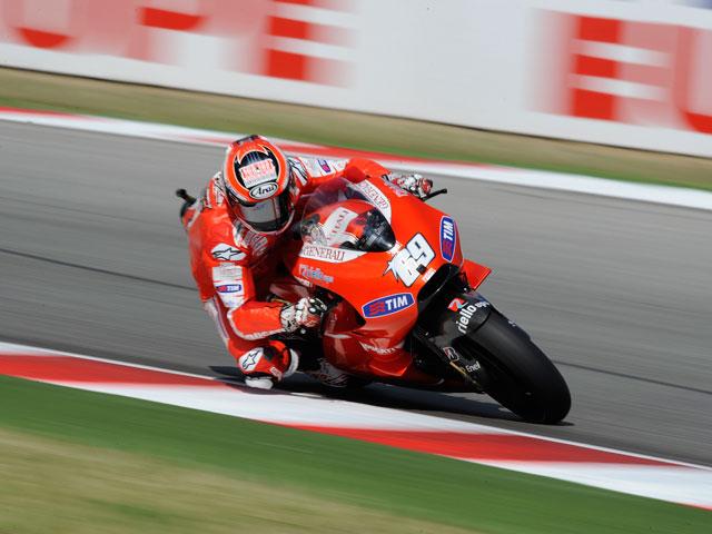 Dani Pedrosa domina la primera sesión de entrenamientos en MotorLand