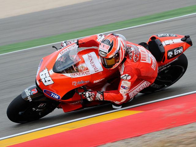 Imagen de Galeria de Victoria contundente de Casey Stoner en el GP de Aragón