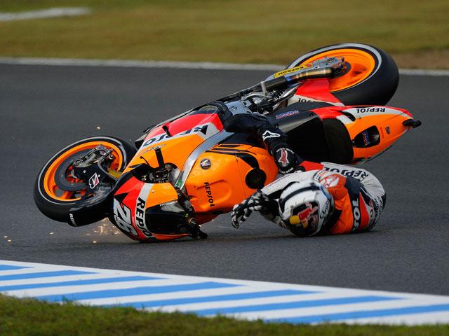 """Dani Pedrosa: """"He intentado frenar la moto, pero algo no funcionaba"""""""