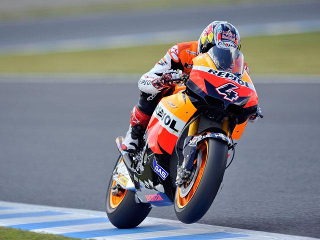 Casey Stoner se lleva el Gran Premio de Japón