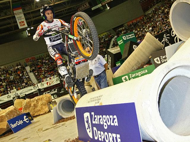 Toni Bou, primer líder del Campeonato de España de Trial Indoor