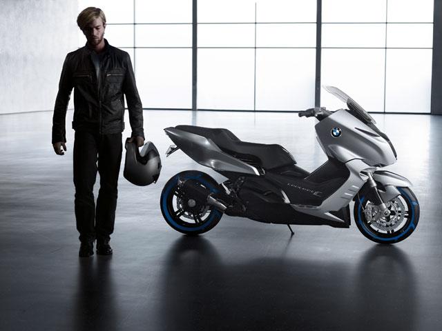 BMW Concept C, prototipo de scooter