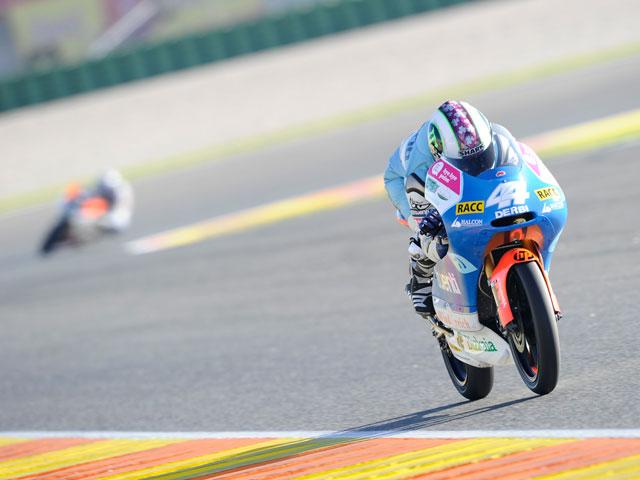 Marc Márquez, Campeón del Mundo de 125 cc. Victoria para Smith en Valencia