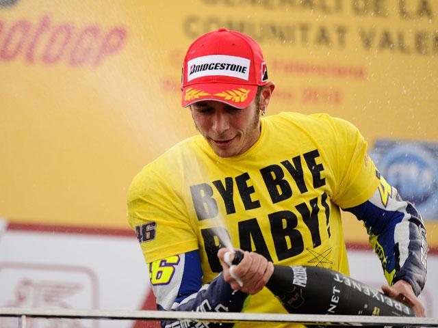 """Imagen de Galeria de Valentino Rossi: """"Bye, bye, Baby"""""""