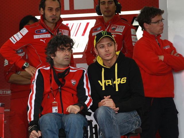 Valentino Rossi inicia su etapa con Ducati en MotoGP