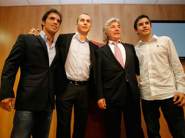 Todos los campeones del mundo de motociclismo españoles