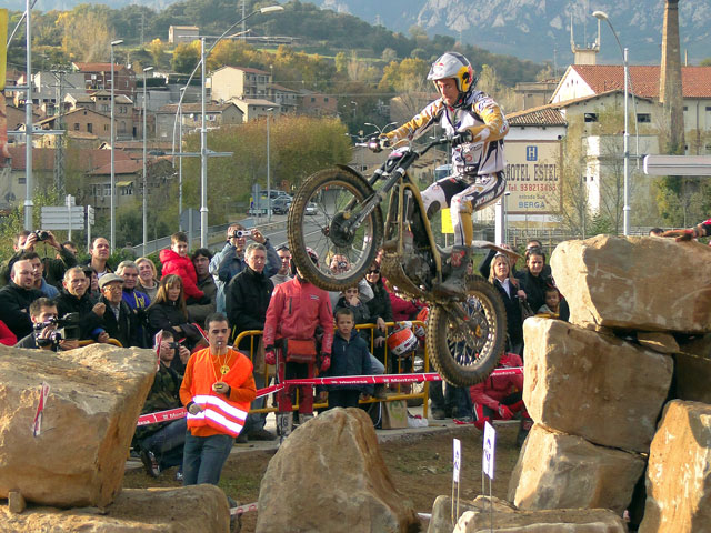 Adam Raga, Campeón de España de Trial