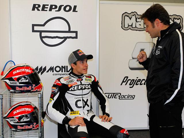 Imagen de Galeria de Marc Márquez rueda con la Moto2