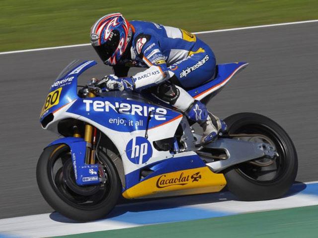 Julián Simón marca buenos tiempos en Jerez