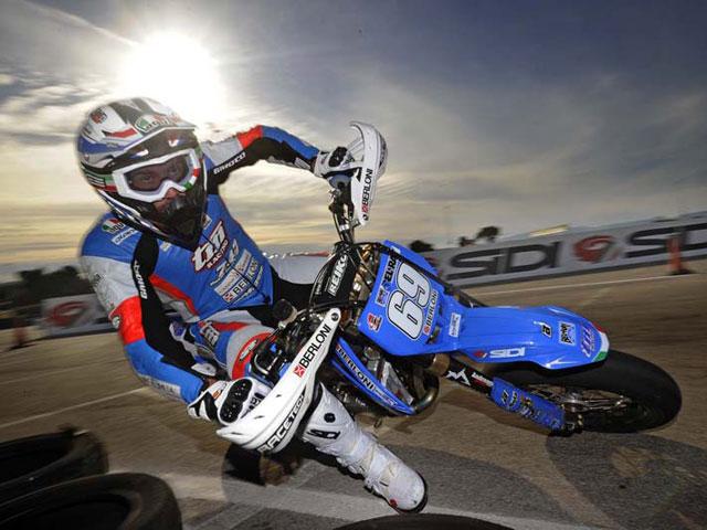 Thomas Chareyre, Campeón del Mundo de Supermotard