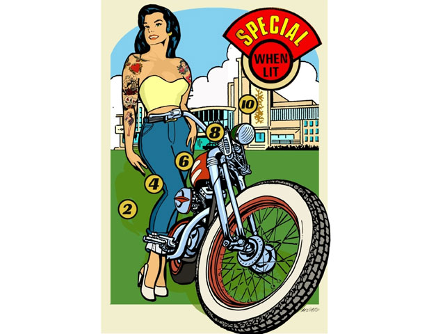 Exposición fotográfica Harley-Davidson