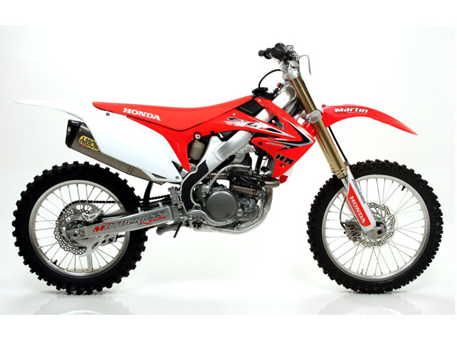 Escape Arrow para las Honda CRF de motocross