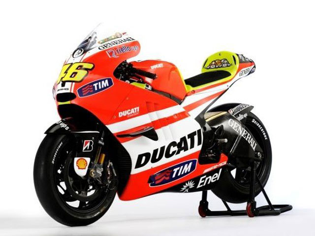La Ducati de Valentino Rossi