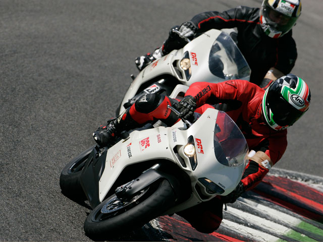 Ducati Riding Experience, con Troy Bayliss