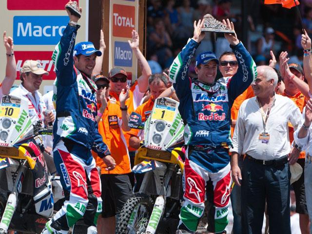 Marc Coma gana el Dakar 2011