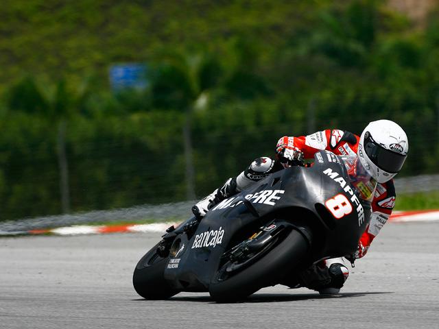 Dani Pedrosa, a ritmo de récord en Malasia