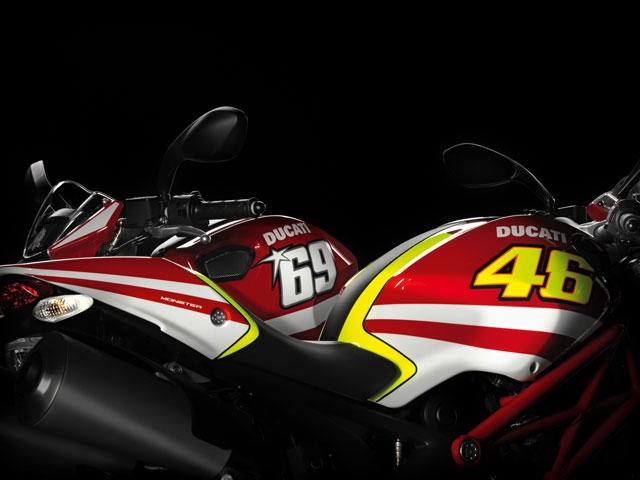 Imagen de Galeria de Ducati Monster Valentino Rossi y Nicky Hayden Réplica