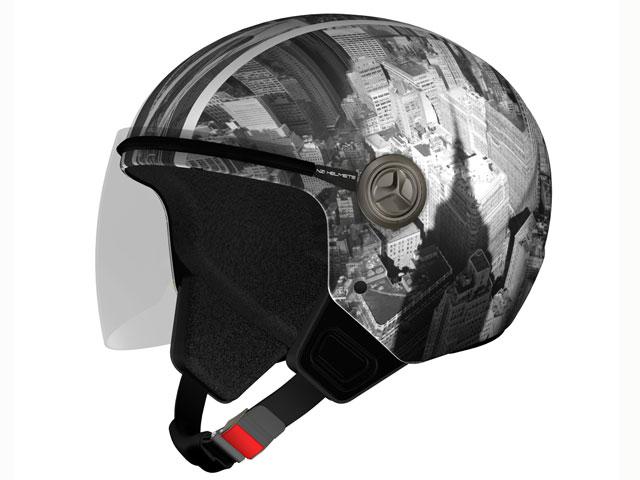 NZI te permite decorar tu casco con cualquier fotografía digital