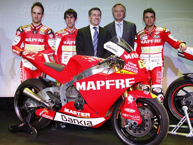 Presentación del equipo de Aspar en MotoGP, Moto2 y 125