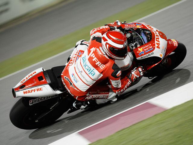 Stoner, de nuevo el más rápido en los entrenamientos cronometrados de MotoGP