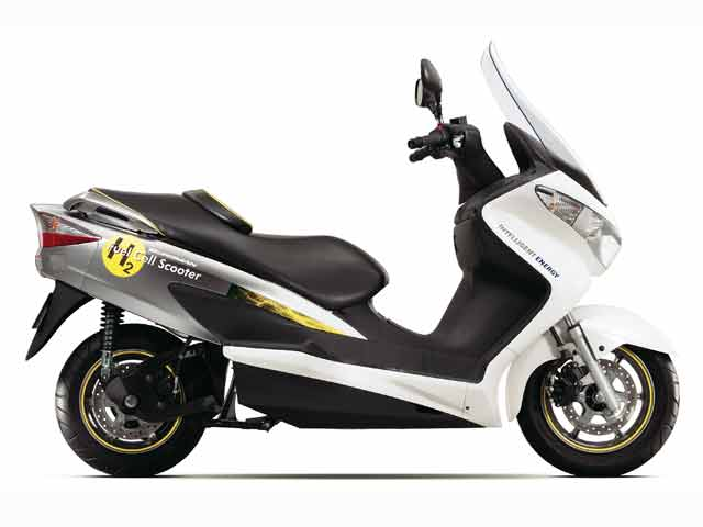 Imagen de Galeria de Suzuki Burgman Fuel-Cell