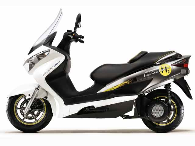 Suzuki Burgman Fuel-Cell