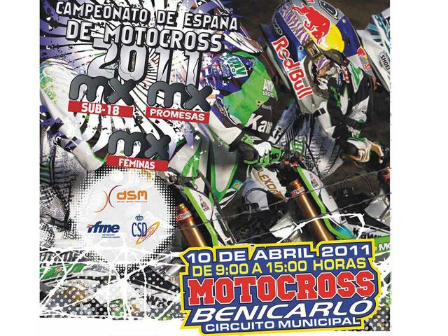 Campeonato de España MX en Benicarló