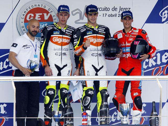 Torres, Rins y Barragán, primeros líderes del CEV 2011