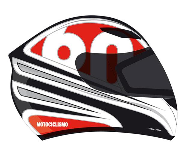 Imagen de Galeria de Casco Motociclismo 60 Aniversario