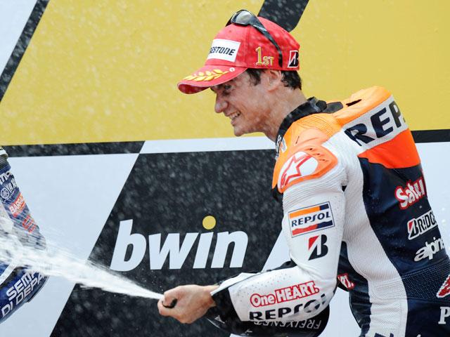 Dani Pedrosa: Estoy contento con la victoria y con mi condición física